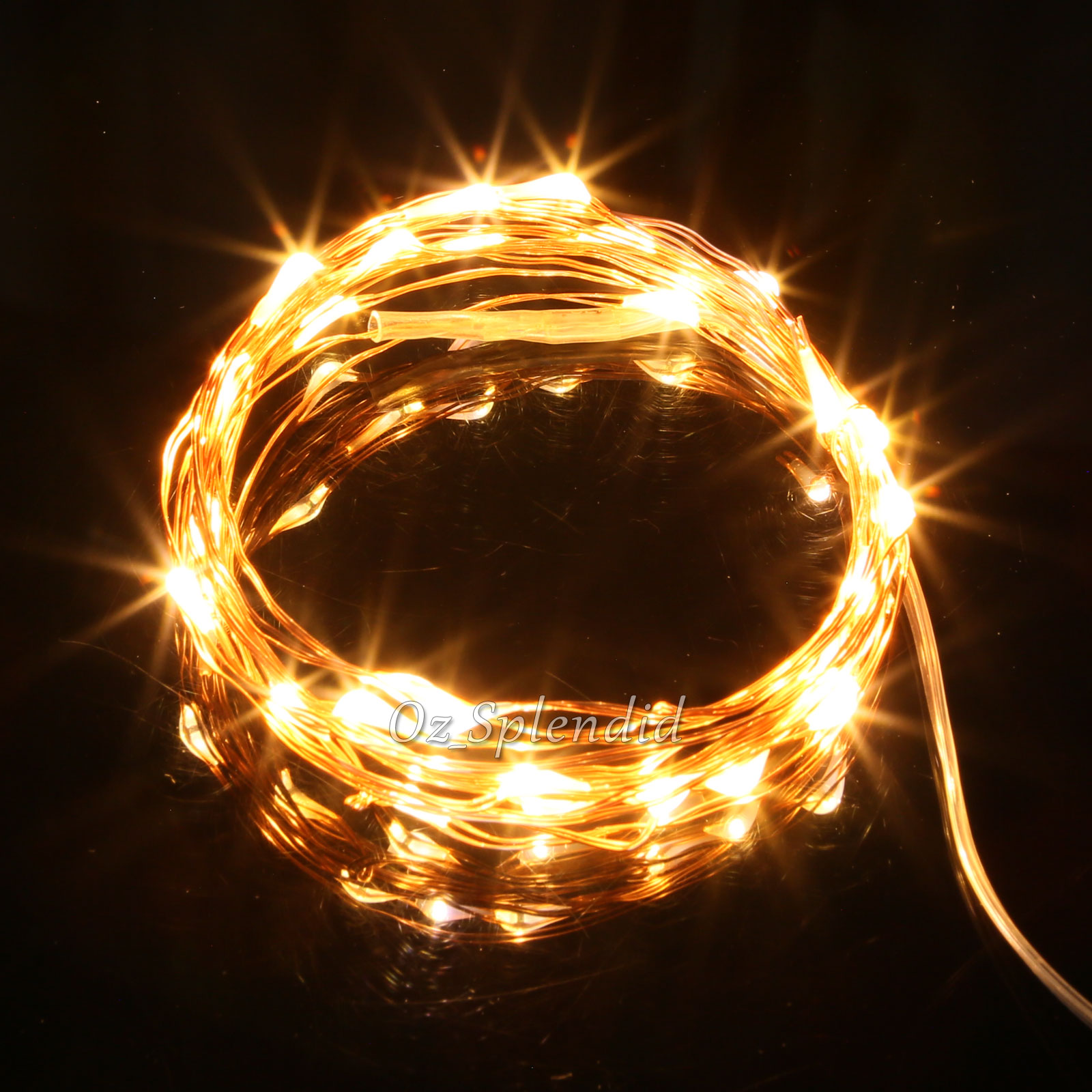 2-10M LED Copper Wire String Fairy Christmas Tree Xmas Party Lights Warm White eBay